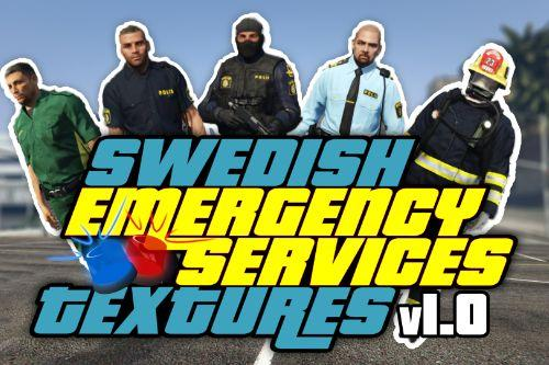 Swedish Emergency Services Textures [Police, Ambulance & Fire Department]