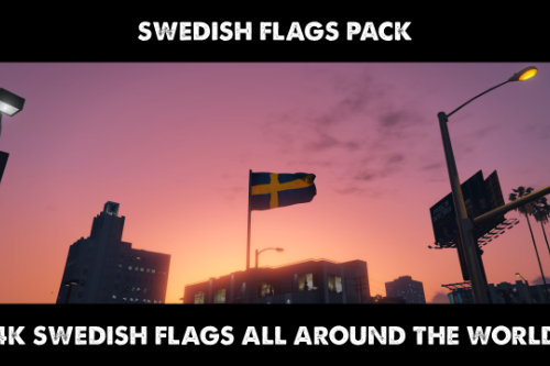 Swedish Flag Pack