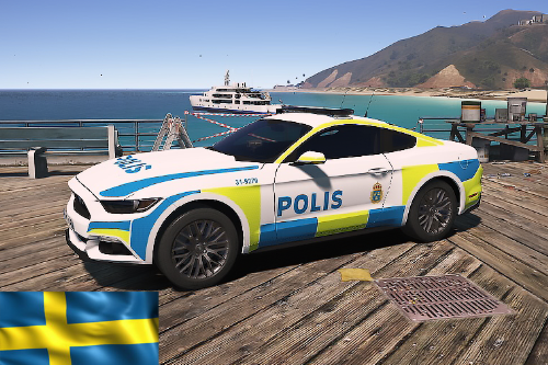 Swedish Ford Mustang GT Police