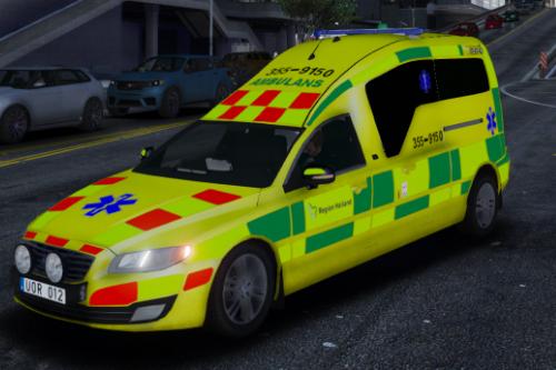 Swedish Ambulance 2014 Volvo V70 Nilsson