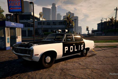 Swedish Police | 1972 AMC Matador – Car 1 Adam-12 (Paint job)