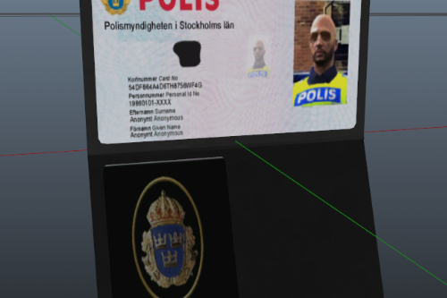 Swedish Police Badge