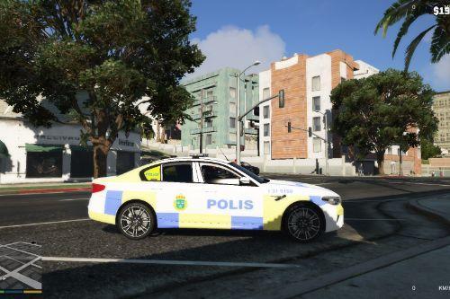 Swedish Police BMW M5 [WIP]