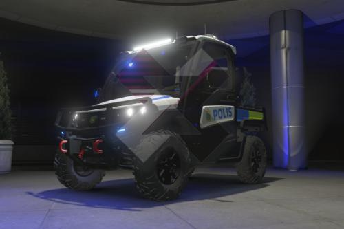 Swedish Police UTV