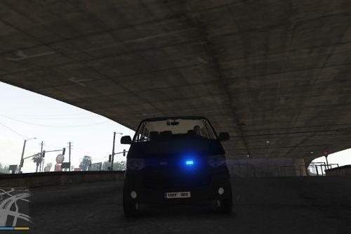 Swedish Police Volkswagen T5 Unmarked
