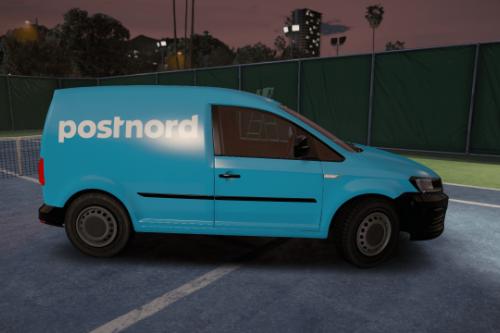 Swedish Postnord Car