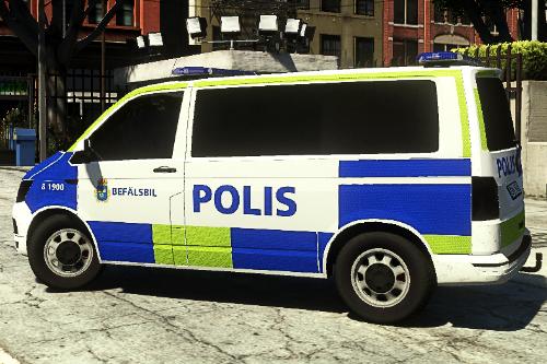 | Swedish | VW T6 | Police Transporter | 2016