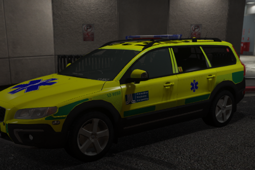Swedish XC70 Ambulans | Paintjob