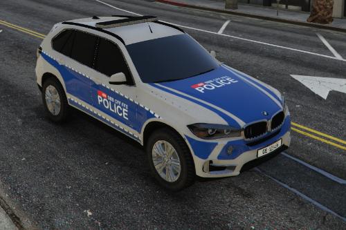 Swiss police / Bmw X5 Transports Police SBB CFF FFS