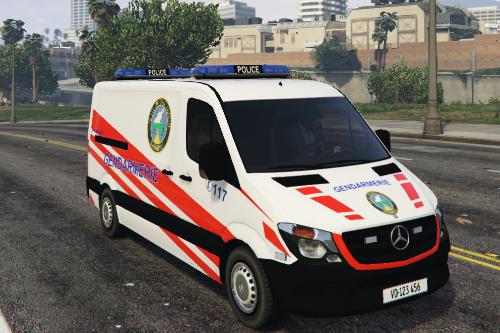 Swiss Police / Mercedes Sprinter Gendarmerie Vaud