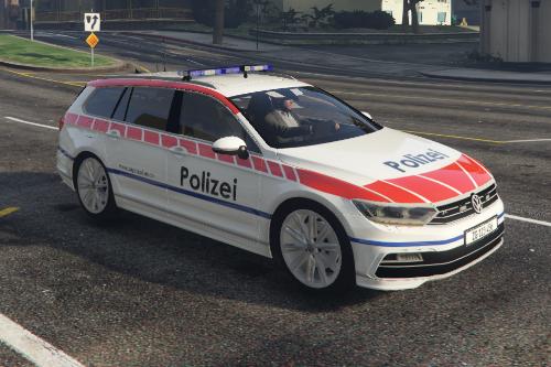 Swiss Police / Volkswagen (VW) Passat Gendarmerie Zug