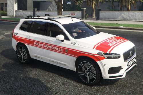 Swiss police / Volvo XC90 Police municipale Genève