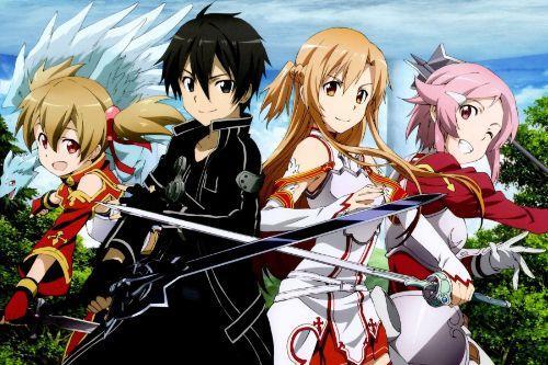 Sword Art Online Loading screen