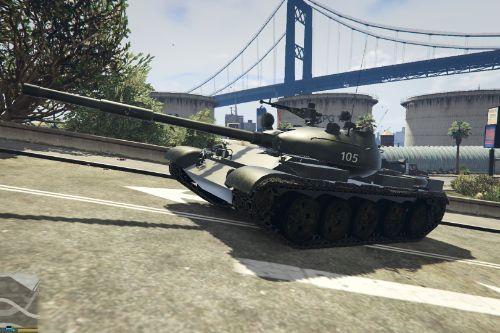 T-62 from 105th Ryu-Kyungsu Tank division