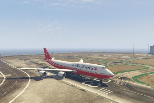 T.C. Cumhurbaşkanlığı 747-8i Kaplaması (Turkey Government 747-8i Livery)