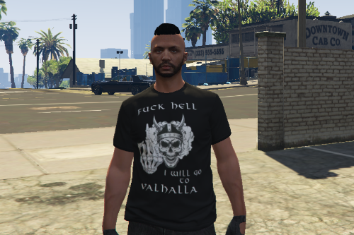 Valhalla T-Shirt for MP Freemode