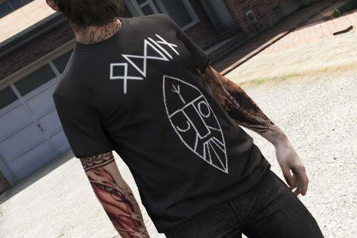 T-Shirt Descended From Odin [Freemode Male]