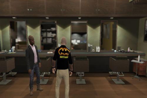 T-Shirt Michael (Batman)