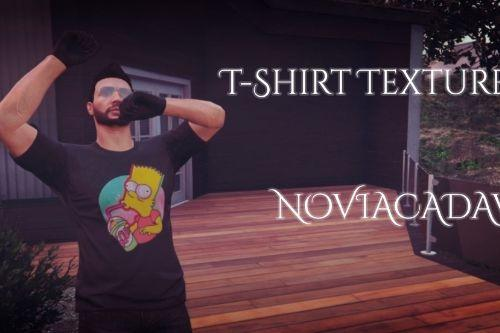 T-Shirt MP Male Texture Pack