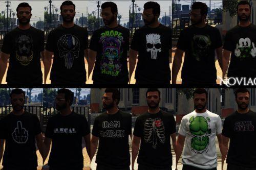 T-Shirt MP Male Texture