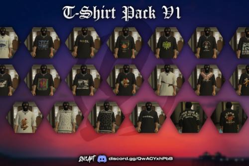 T-Shirt PackV1 for MP Male