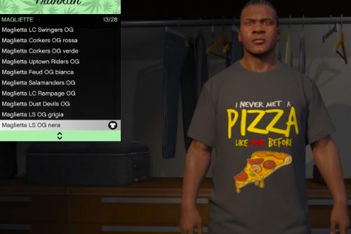 T-shirt  Pizza Franklin