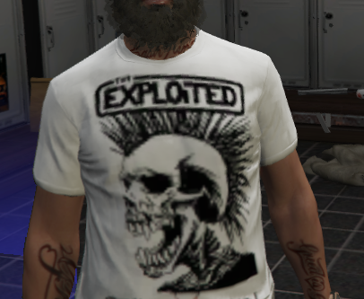 T-shirt PUNK For Male MP FiveM