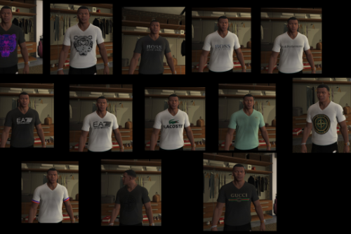 Dbee29 gta5 all t shirts
