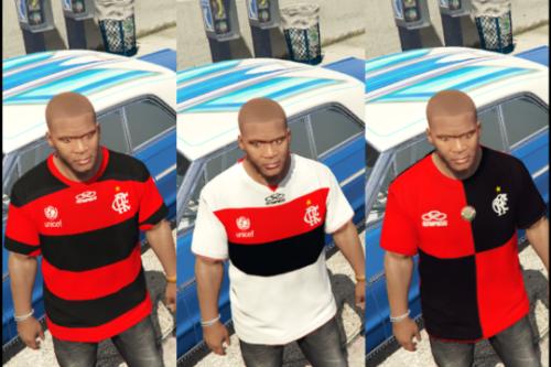 T-Shirts Soccer C.R. Flamengo Olympikus kit 2012