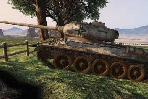 "T34-85 - ""Captured"""