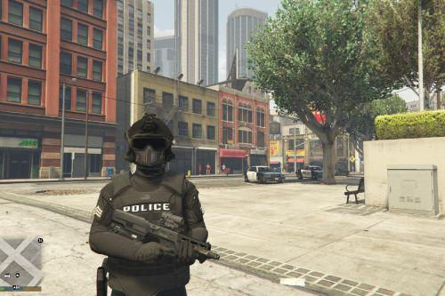 Tactical Combat Police Uniform