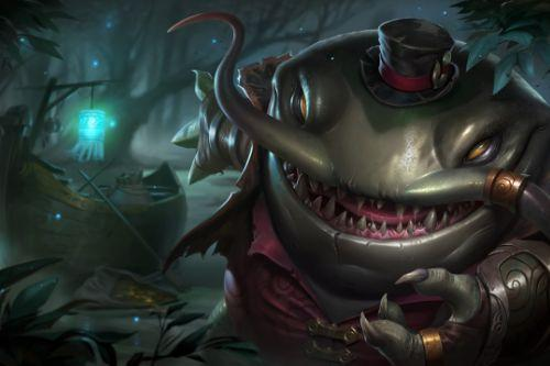 Tahm Kench League of Legends Loading screen