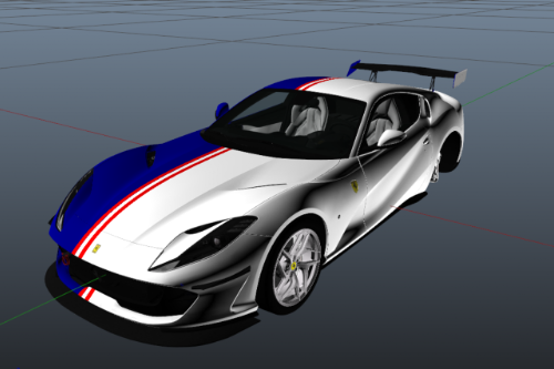Tailor Made livery for Ferrari 812 Superfast