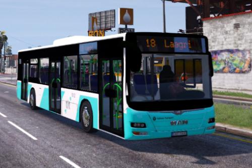 Tallinn City Transport Bus MAN Lions City A37 [Estonian]