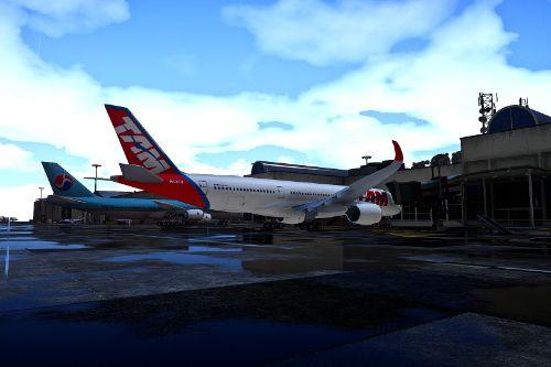 TAM Airlines livery for A350-900XWB