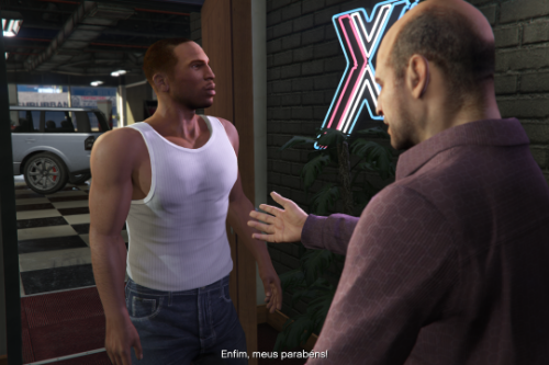 Tank Top for HD Carl Johnson