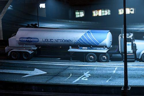 Tanker trailer Terminator 2