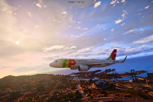 TAP Portugal livery (A320-200 and A320neo)