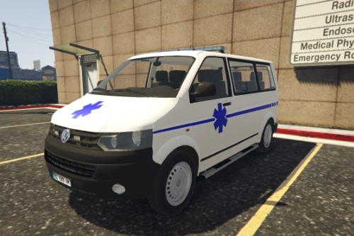 Taxi Ambulance Volkswagen T5