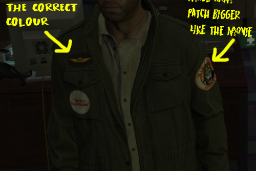 Taxi Driver / Travis Bickle Army Jacket + Mohawk