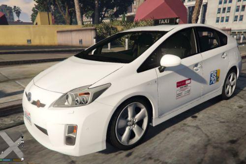 Taxi Roma Capitale - Toyota Prius | Reskin