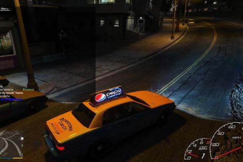 Taxi sign Brightness Fix + Smaller Raindrops + More Stars