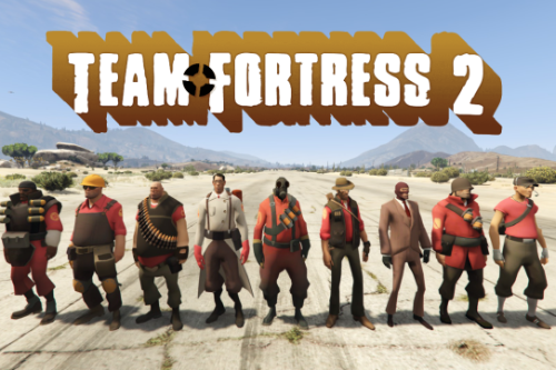 Team Fortress 2 Pack (TF2) [Add-on Peds]