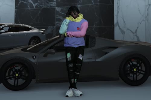 Teddy Fresh hoodie By Elofm (High quality + Fivem ready!)