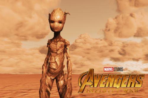 Teen Groot (Avengers Infinity War)