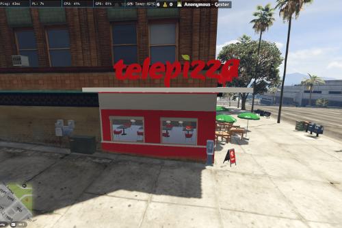 Telepizza Restaurant - [MLO]