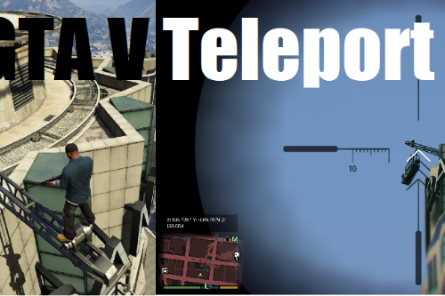 Teleport Gun (Instant teleport / vehicle stealer)