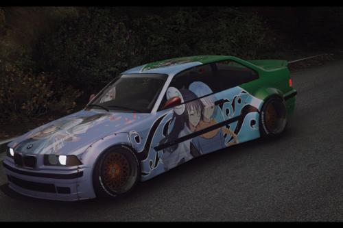 Tensei Shitara Slime Datta Ken! BMW E36 Rocket Bunny