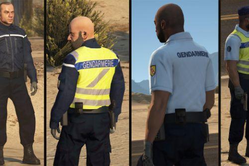 Tenue de Gendarme avec GHV