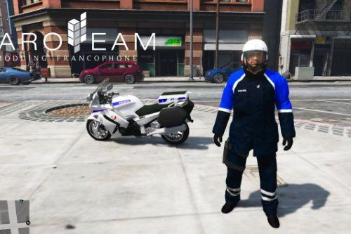 Tenue Motard Police Nationale
